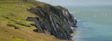 Ostrov Wight ve Velké Británii Foto: Caroline Granycome Flickr