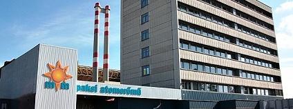 Jaderná elektrárna Paks v Maďarsku Foto: Rovibroni Wikimedia Commons
