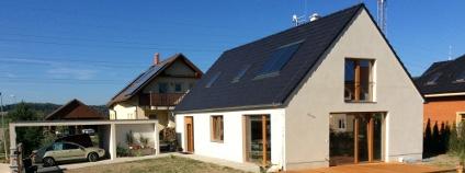 Pasivní dům roku ve Vraném nad Vltavou Foto: Centrum pasivního domu