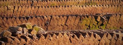 Bloky rašeliny Foto: pxhere