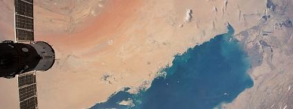 Perský záliv Foto: NASA's Marshall Space Flight Center / Flickr