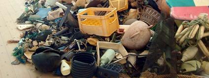 Hromada plastového odpadu Foto: David J Flickr.com