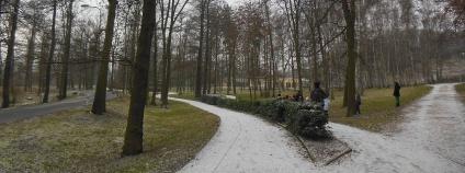 Lochotínský park v Plzni.