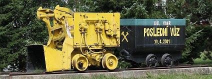 Stráž pod Ralskem - poslední důlní vláček Foto: Matěj Baťha / Wikimedia Commons