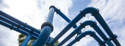 Nápadné potrubí v Berlíně Foto: Patrick Lauke Flickr.com