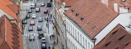 Doprava v pražských ulicích Foto: Javier Michal Shutterstock