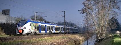 Příměstský vlak TER ve Francii Foto: Renaud CHODKOWSKI Flickr.com