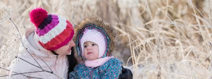 Rodinná procházka v zimě Foto: Maya Kruchankova / Shutterstock.com
