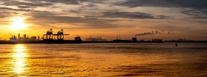 Přístav v Rotterdamu Foto: Maurits Verbiest Flickr