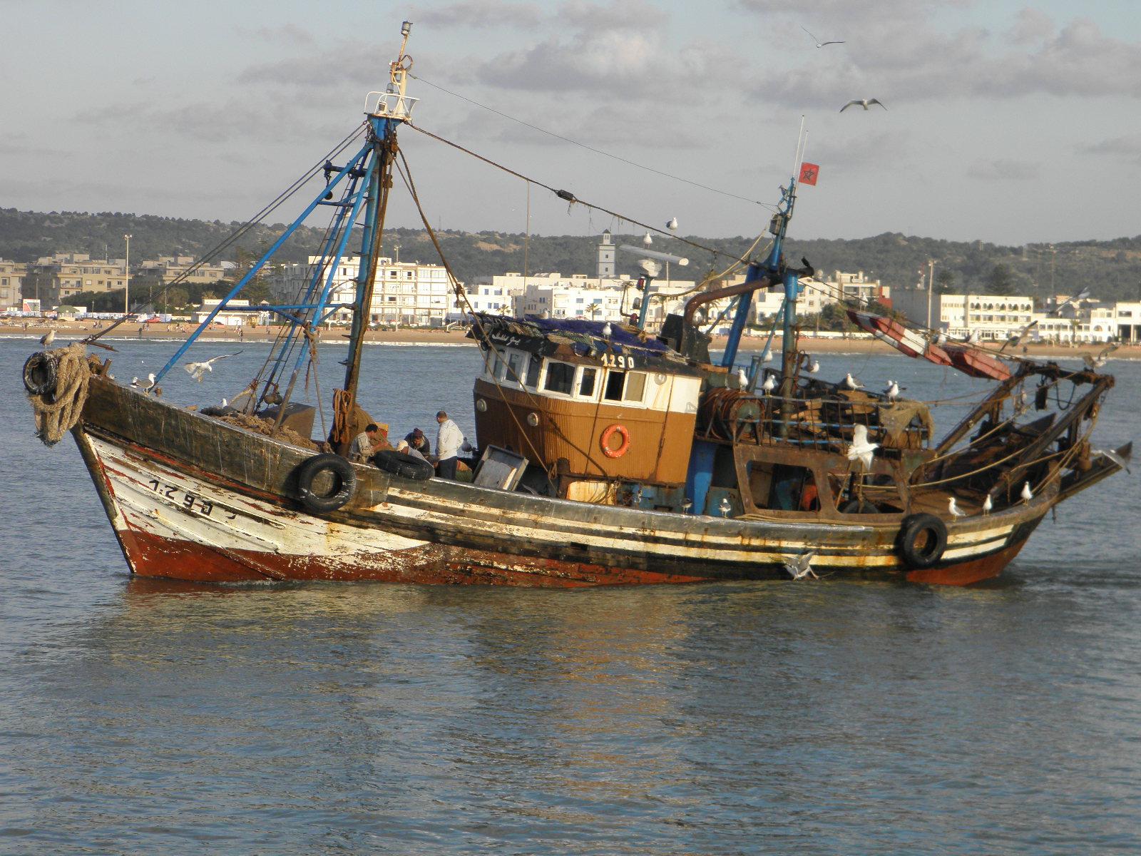 Rybaření v moři