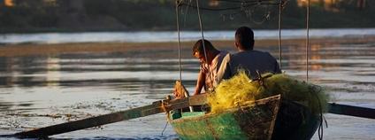 Rybáři na Nilu Foto: EmsiProduction Flickr