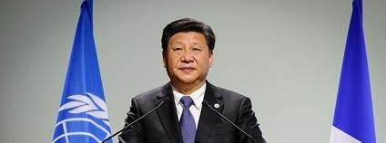 Si Ťin-pching na pařížské konferenci v roce 2015 Foto: Wikimedia Commons