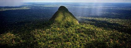 Hora ve tvaru homole v peru�nsk�m NP Sierra del Divisor Foto: Diego P�rez / El Taller / Flickr