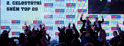 Sjezd TOP 09 v Hradci Králové 22 - 23. 10. 2011. Foto: Hugo Charvát/Ekolist.cz