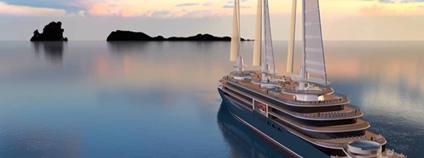 Francouzská loděnice začne prodávat zaoceánské lodě s plachtami Foto: CHANTIERS DE L'ATLANTIQUE Vimeo.com