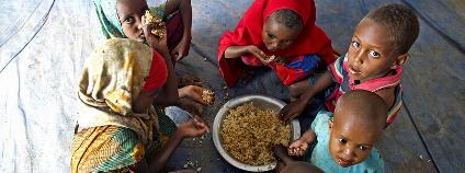 Somálští dětští uprchlíci v utečeneckém táboře v Etiopii. Ilustrační foto: Eskinder Debebe/UN Photo/Flickr