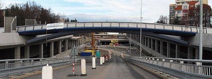 Stavba tunelu Žabovřeská, Brno. Foto: Harold/Wikimedia Commons
