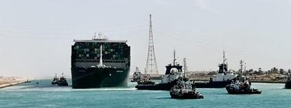 Suezský průplav Foto: Herry Lawford Flickr