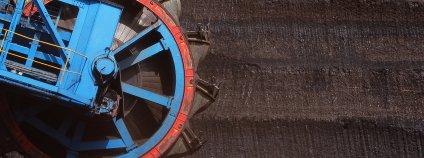 Rypadlo používané k těžbě uhlí Foto: Martin Mach Ondřej Ekolist