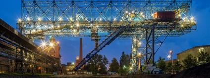 Nový portálový naběrač v plném provozu Foto: Třinecké železárny