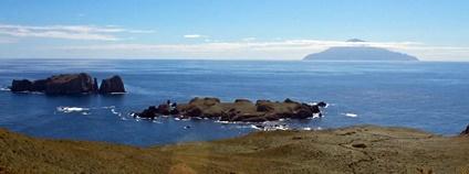 Britské zámořské teritorium Tristan da Cunha Foto: Brian Gratwicke Flickr.com