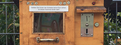 Automat na biovajíčka Foto: Urbanshit.de