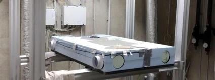 Bytová větrací jednotka s termoelektrickým výměníkem pro řízení teploty vzduchu Foto: Univerzitní centrum energeticky efektivních budov (UCEEB) ČVUT