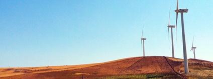 Větrné elektrárny ve Španělsku Foto: socks_&_sandals Flickr.com