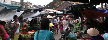 Trh ve Vietnamu Foto: goflashpacker Flickr.com