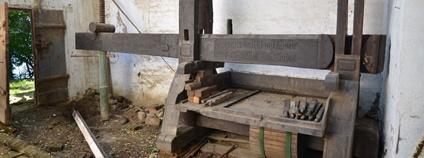 Národní zemědělské muzeum získalo vzácný vinařský lis z roku 1841 – k vidění bude v Ostravě Foto: Národní zemědělské muzeum