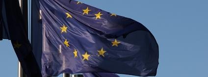 Vlajky EU před sídlem Evropské komise v Bruselu Foto: Jan Stejskal Ekolist.cz
