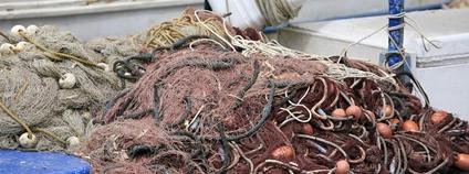 Vlečné sítě na lodi Foto: Alex Proimos Flickr