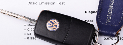 Výsledky testu emisí VW Foto: SMG Shutterstock