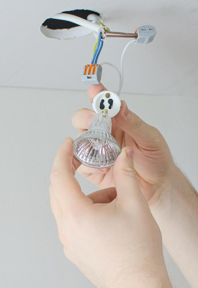 Jak vyměnit žárovku v bodovém světle