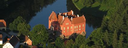 Zámek Červená Lhota Foto: Kralpilot Wikimedia Commons