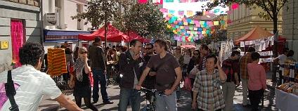 Pouliční festival Zažít město jinak 2011
