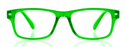 Zelené brýle Foto: Cloud7Days / Shutterstock.com