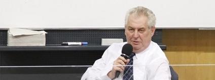 Miloš Zeman. Foto: ZemanNaHrad.cz