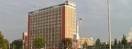 Baťův mrakodrap ve Zlíně, dnes sídlo krajského úřadu. Ilustrační foto: hugo / Wikimedia Commons